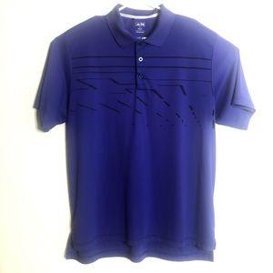 Adidas Men's Golf Polo Purple Size XL